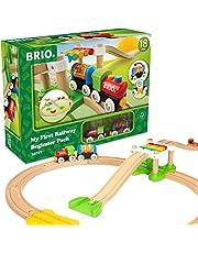 Brio My First Railway Beginner Pack, 18 Pieces Train Set