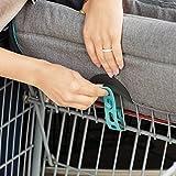Munchkin Brica GoShop Baby Shopping Cart Cover, Grey