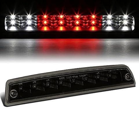 Dodge Ram BR/BE High Mount Dual Row LED 3rd Brake / Cargo / Reverse Light (Black Housing Smoke (1998 Dodge Ram Brake Lights)
