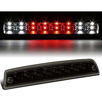 For Dodge Ram BR/BE High Mount Dual Row LED 3rd Brake/Cargo/Reverse Light (Black Housing Smoke Lens)