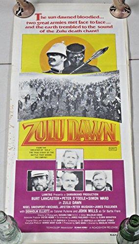 ZULU DAWN 1979 Film Australian Insert Movie Poster 14