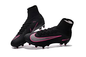 low priced 8980e 41f19 yurmery Chaussures de Football Mercurial Superfly V AG Pro Bottes, Homme,  Noir