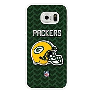 For HTC One M7 Case Cover Diy NFL Green Bay Packers Logo White Hard Shell For HTC One M7 Case Cover Green Bay Packers Logo Edge Case(Only Fit for Edge)
