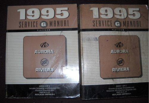 1995 Oldsmobile Aurora Buick Riviera Service Manual ()