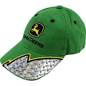 "John Deere ""Plated"" Green Toddler Baseball Cap Hat"