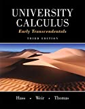 University Calculus 3rd Edition