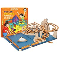 Smartivity Roller Coaster Marble Slide for 8+ Years Boys and Girls, STEM, Learning, Educational and Construction Activity Toy Gift (Multi-Color)