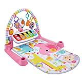 Fisher-Price Deluxe Kick & Play Piano Gym, Pink [English]