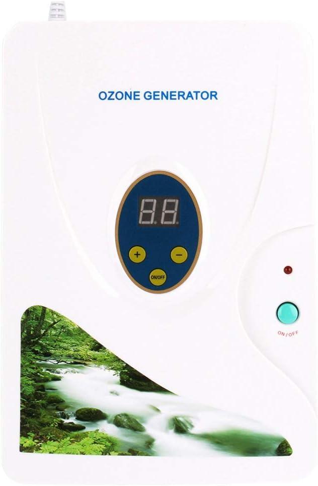 ZJchao 600mg/H digital-FE-generador de formación de desintoxicación de la máquina de para de agua dulce de hydroponics de frutas y verduras de la carne