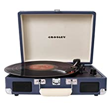 Crosley Radio Cruiser Portable Turntable, Blue