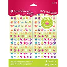 American Girl Crafts 30-629318 Nail Sticker Craft Favors