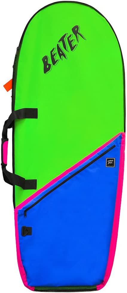 Catch Surf Board Bag, Lime/Blue, One Size