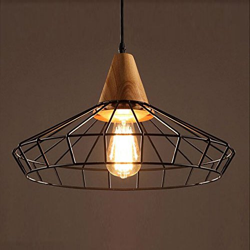 Motent Vintage Industrial Bird Cage Lampshade 15.7