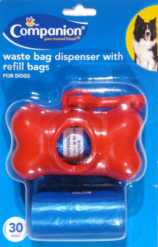 companion-dog-waste-bag-dispenser-with-refill-bags-30-bag-ct