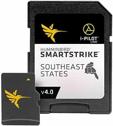 Humminbird LakeMaster Plus Southeast States Edition Digital GPS Lake and Aerial Maps, Micro SD Card, Version 3