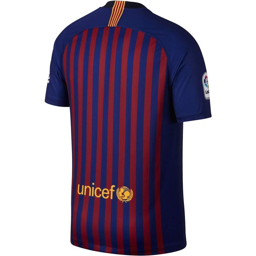 Nike 2018 2019 FC Barcelona Stadium Home Soccer Jersey
