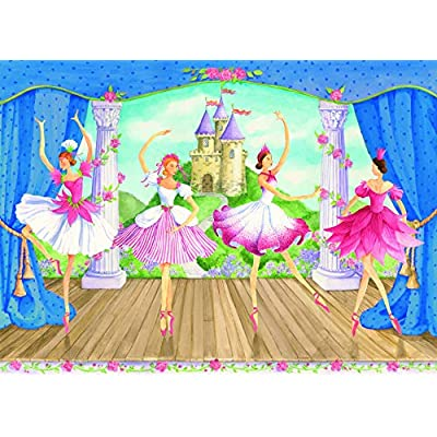 Ravensburger Fairytale Ballet - 60 Piece Jigsaw Puzzle for Kids – Every Piece is Unique, Pieces Fit Together Perfectly: Toys & Games