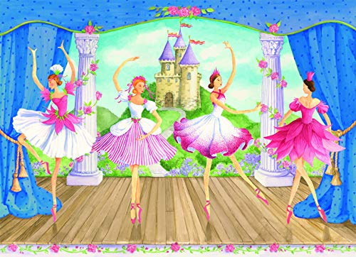 Ravensburger Fairytale Ballet - 60 Piece Jigsaw Puzzle for Kids - Every Piece is Unique, Pieces Fit Together Perfectly