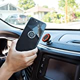 Magnetic Car Cell Phone Holder | Ultra Slim Dashboard Mount | Universal Design | iPhone X/8/7/6/5 Samsung Galaxy S9/S8/S7/S6 | Top Rated by Uber and Lyft Drivers