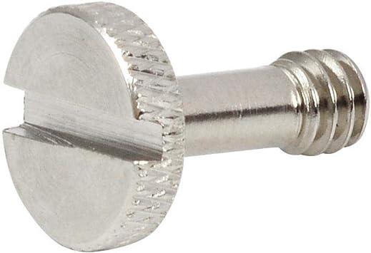 diametro 14 mm x altezza 20 mm Mengs 6 viti in acciaio SR-26 da 6,35 mm per fotocamera DSLR//treppiede//piastra a sgancio rapido//testa a sfera