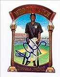 Autograph Warehouse 42110 D Angelo Jimenez Autographed Baseball Card New York Yankees 2000 Fleer Who To Watch No. 13