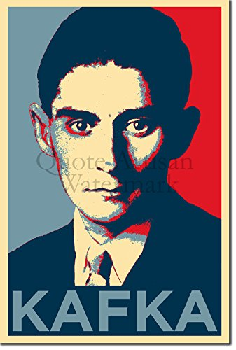 Introspective Chameleon Franz Kafka Art Print 'Hope' Photographic Poster - Unique Art Gift - Size: 18 x 12 Inches