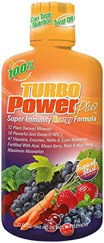 Turbo Power Plus Super Immunity 32 Oz. Liquid Energy Formula