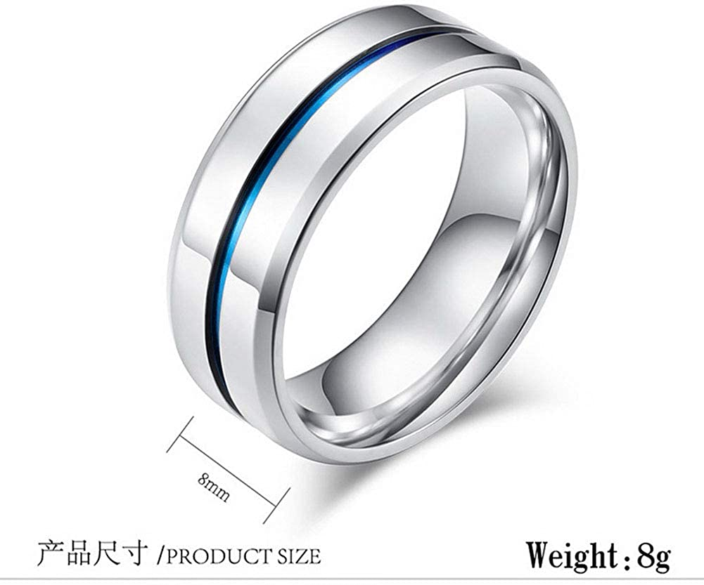 Koolee Hot New Ring Fashion New Physical Intelligent Induction Temperature Couple Ring Mood Display Ring Magic Jewelry