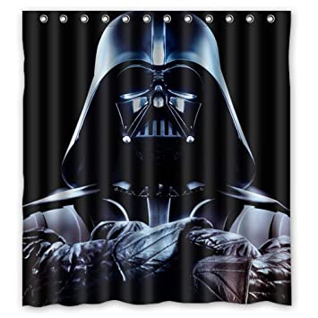 LEGENDT Artsadd Custom Star Wars Darth Vader Waterproof Bathroom Fabric Shower CurtainBathroom Decor 66quot