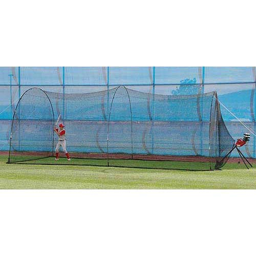 Heater Sports BaseHit Pitching Machine and PowerAlley Batting Cage  (And Machine Pitching Cage)