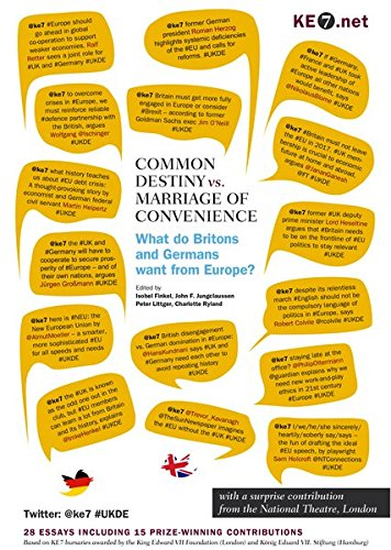 Common Destiny vs. Marriage of Convenience - What do Britons and Germans want from Europe?