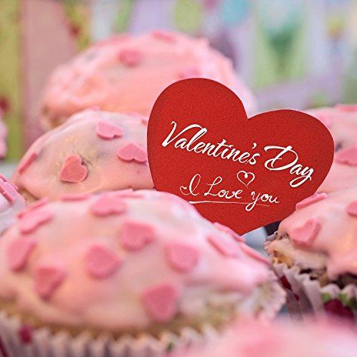 Amazon.com: Willbond 500 Pieces Valentine\'s Day Foam Hearts Pack ...