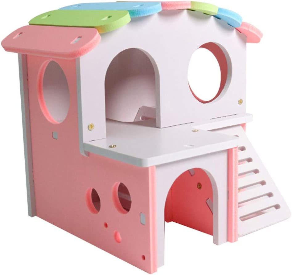 Xmiral - Escalera para Juguetes de Madera para Cachorro de Color para Animales domésticos (tamaño: 17 x 15,5 x 14 cm): Amazon.es: Productos para mascotas