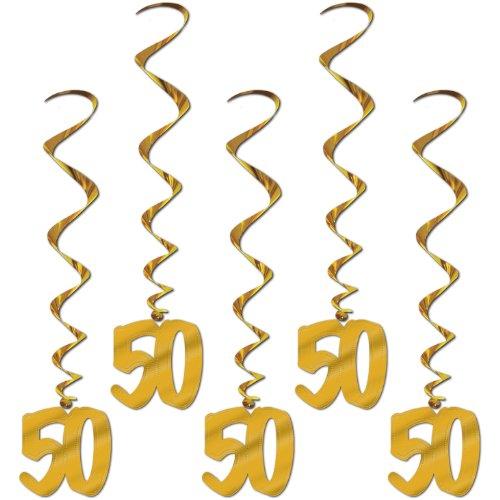 (50th Anniversary Whirls   (5/Pkg))