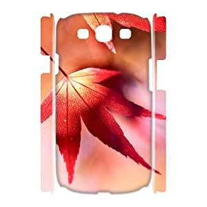 Maple Leaf 3D-Printed ZLB572634 DIY 3D Phone Case for Samsung Galaxy S3 I9300