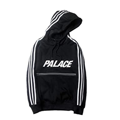 51c8fc199fe8 DuoLu Fashion Palace Letter Print Pullover Hoodie Casual Sweater Men ...
