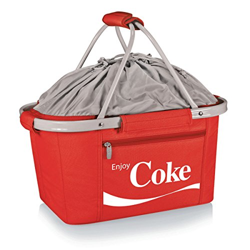 - Picnic Time Coca-Cola Insulated Metro Basket, Red