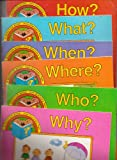 img - for SET of 6 Discovery Toys Question Books! Included are: How?, Why?, Who?, What?, When? & Where? (Discovery Toys Question Book) book / textbook / text book