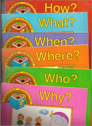 set of 6 discovery toys question books included are how why