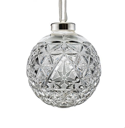 Waterford Crystal Times Square Ball Star Of Hope Ornament 2000