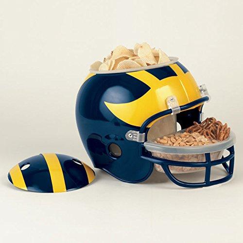 Ncaa Snack Helmet - WinCraft NCAA 2619141 University of Michigan Snack Helmet