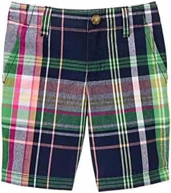 Gymboree Big Boys' Pnk Plaid Shorts