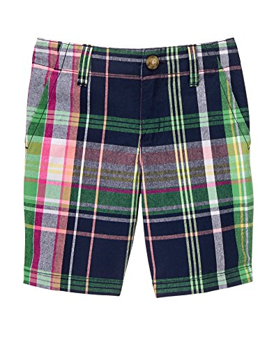 Plaid Boys Shorts (Gymboree Big Boys' Pnk Plaid Shorts, Multi, 8)