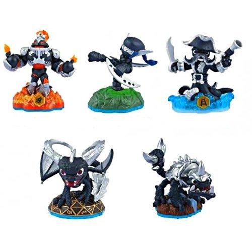 Skylanders SWAP Force Dark Edition 5 Figure Set