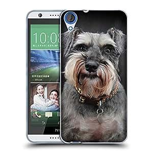 Super Galaxy Coque de Protection TPU Silicone Case pour // V00002200 perros Schnauzer // HTC Desire 820