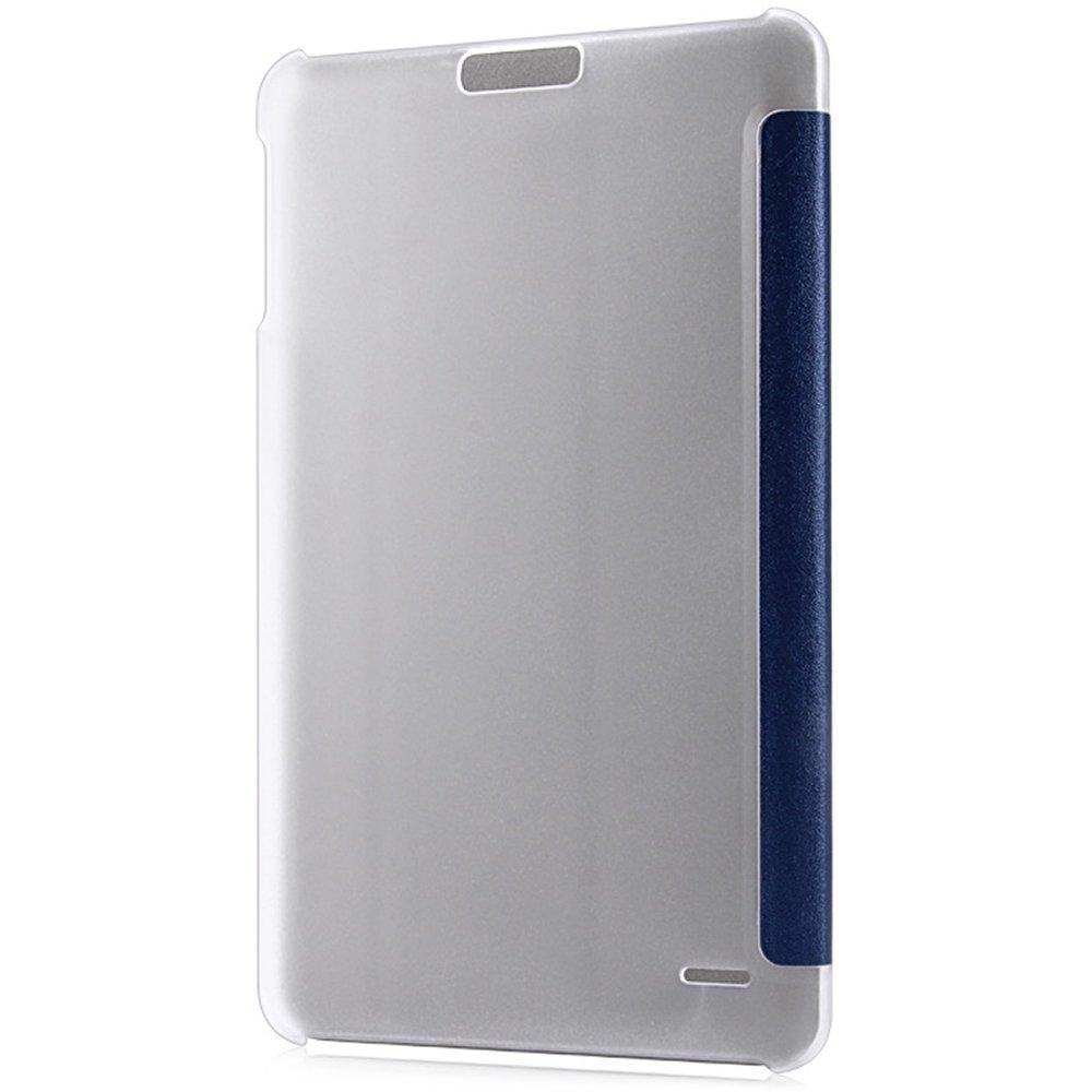 LIUYUNE,Funda Protectora de pl/ástico PU Color:Blanco con funci/ón de Soporte de dise/ño Plegable Triple para Onda V891
