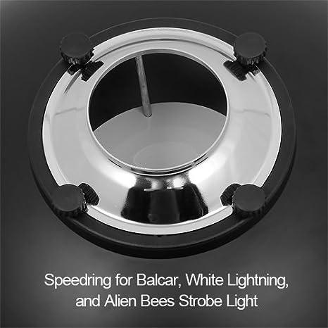 Fotodiox Pro Beauty Dish Aus Metall 55 Cm Mit Balcar Kamera