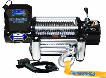 Amazon.com: Superwinch 1510200 LP10000 Winch, 10,000lbs/4536kg ... on