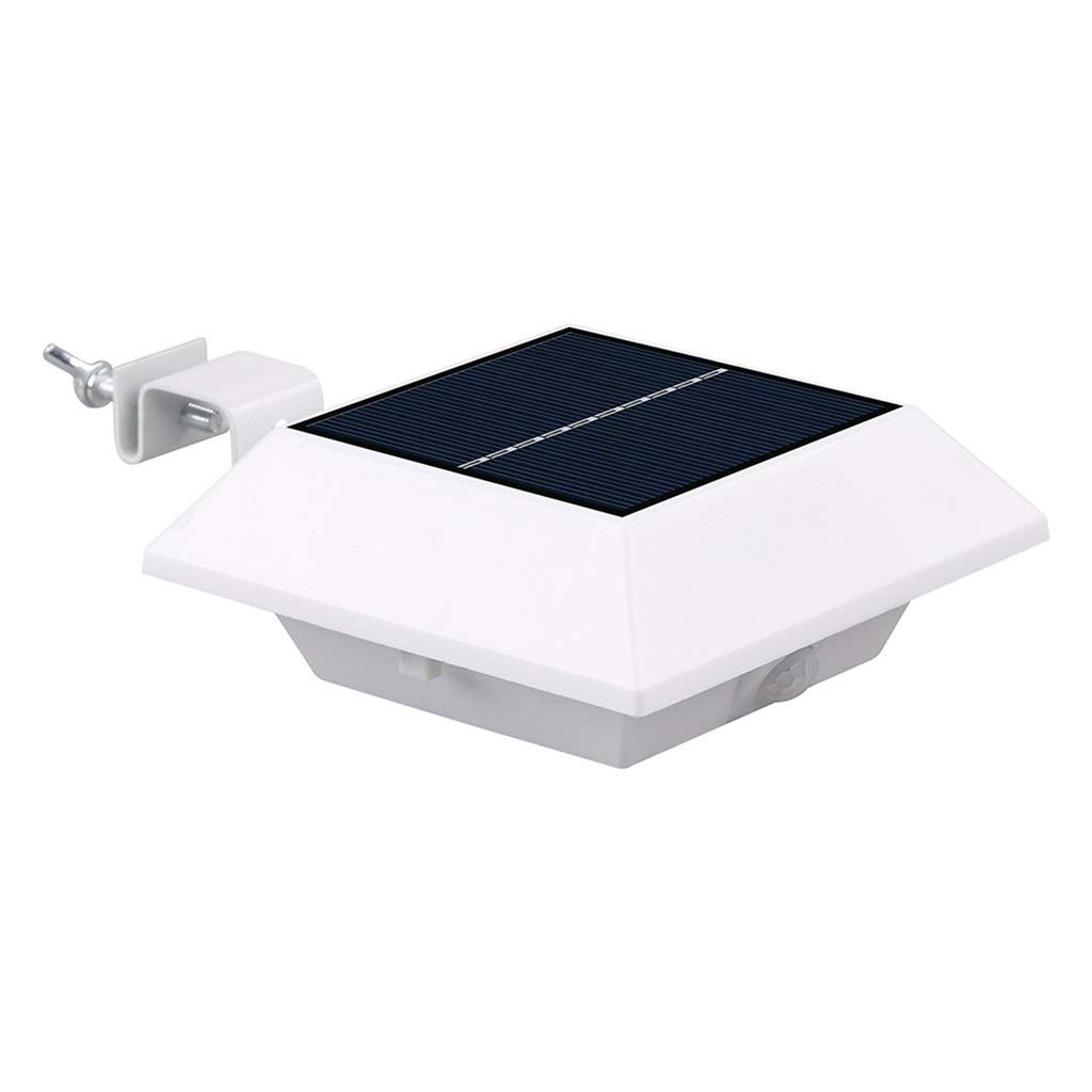 Lampada da parete solare IP44 Impermeabile Sensore di movimento da esterno Cortile da giardino Paesaggio Fence Light