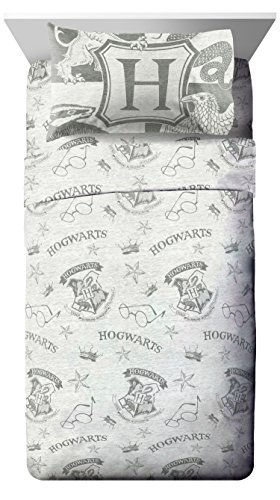 Harry Potter Spellbound 3 Piece Twin Sheet Set by Jay Franco